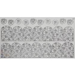Слайдер дизайн №87 - серебро (фольгированный)