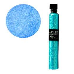 Декор песок в колбе STARLET голубой