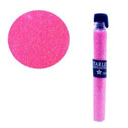 Декор песок в колбе STARLET ярко розовый