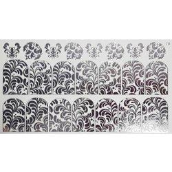 Слайдер дизайн №78 - серебро (фольгированный)