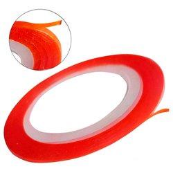 Лента для ногтей - оранжевый