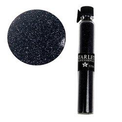 Декор песок в колбе STARLET черный