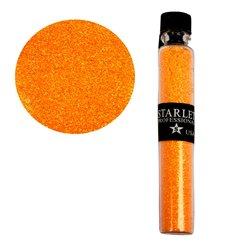 Декор песок в колбе STARLET оранжевый