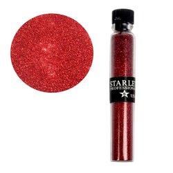 Декор песок в колбе STARLET красный