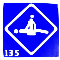Трафарет для тату №135 YRE
