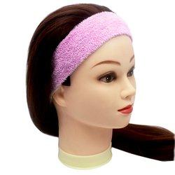 Повязка для волос YRE, сплошная - розовая, 1 шт