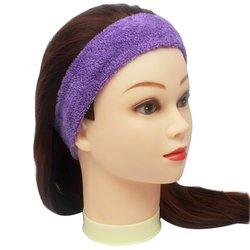 Повязка для волос YRE, сплошная - фиолетовая, 1 шт