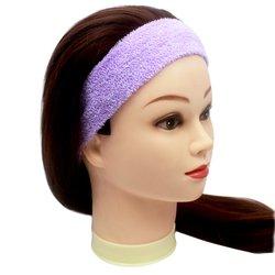 Повязка для волос YRE, сплошная - сиреневая, 1 шт