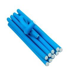 Бигуди-папильотки YRE - синий, 16х235 мм
