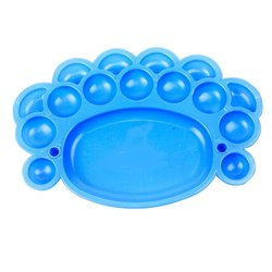 Палитра YRE пластмассовая синяя
