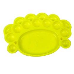 Палитра YRE пластмассовая желтая