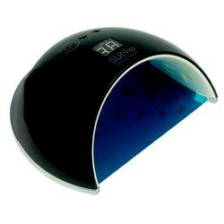 Лампа UV/LED Sun 6S черная 48Вт с дисплеем