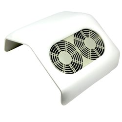 Вытяжка на 2 вентилятора белая