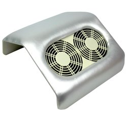 Вытяжка на 2 вентилятора серебро