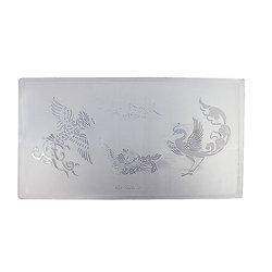 Пластина для стемпинга YRE KD-SM612-011  пластик, белый