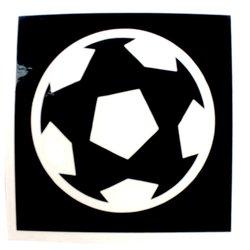 Трафарет для тату №120 Nila мяч 1