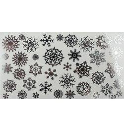 Слайдер дизайн №120 - серебро (фольгированный)