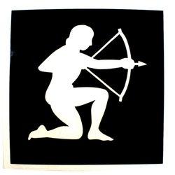 Трафарет для тату №162 Nila зодиак стрелец