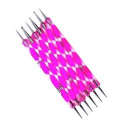 Дотс YRE набор - пластик DMP-00, розовый,  6 шт