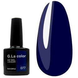 Гель-лак G.La color №77 - темно-синий, 10 мл