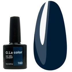 Гель-лак G.La color №160 - темно-бирюзовый, 10 мл