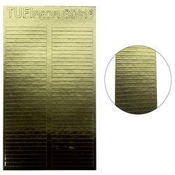 Металлизированные наклейки для ногтей TUFI Profi GD-016