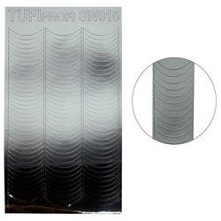 Металлизированные наклейки для ногтей TUFI Profi SW-015