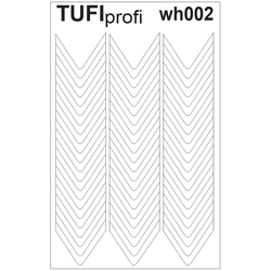 Трафареты для френча TUFI Profi WH-002