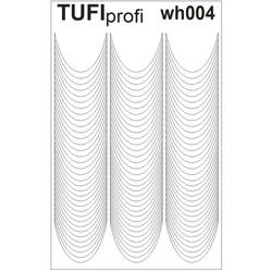 Трафареты для френча TUFI Profi WH-004