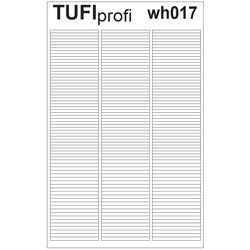 Трафареты для френча TUFI Profi WH-017