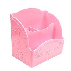 Подставка под кисточки YRE 3 секции розовая (G06)