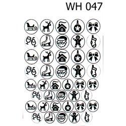 Трафареты для дип-дизайна TUFI Profi WH-031