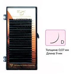 Ресницы I-Beauty на ленте D 0.07 - 9 мм