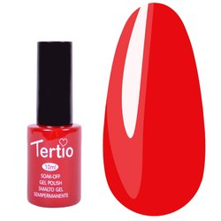 Гель-лак Tertio №110 - темный красный, 10 мл