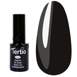 Гель-лак Tertio №12 - черный, 10 мл