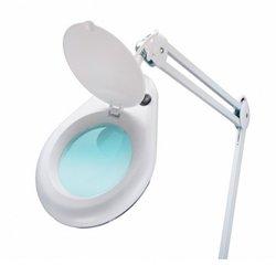 Лампа-лупа 3D Kodi professional настольная с креплением, белый