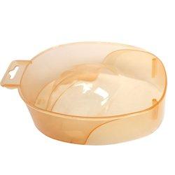 Ванночка для маникюра YRE, оранжевый прозрачный