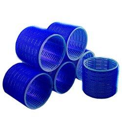 Бигуди липучки YRE 44 мм - синий, 6 шт
