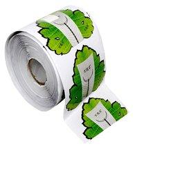 Форма для наращивания ногтей YRE - зелёный, 300 шт