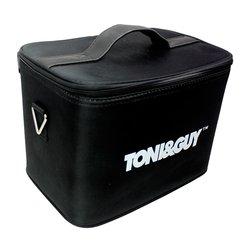 Сумка - чемодан для мастера TONI&GUY тканевая черная 30х20 см