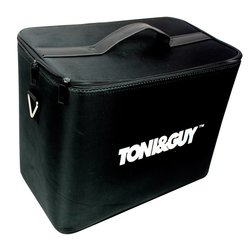 Сумка - чемодан для мастера TONI&GUY тканевая черная 42х24 см