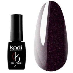 Гель-лак KODI №BW 110 - черный с розовым шиммером, 12 мл