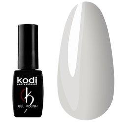 Гель-лак KODI №BW 30 - плотный белый с легким оливково-серым подтоном, 12 мл
