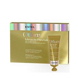 Сыворотка-вуаль Estel Otium Miracle Revive для восстановления волос, 5*23 мл