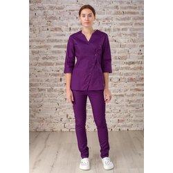 """Медицинский халат """"Roxy"""",  фиолетовый"""