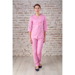 """Медицинский халат """"Roxy"""",  розовый"""
