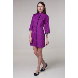 """Медицинский халат """"Sakura"""", фиолетовый"""