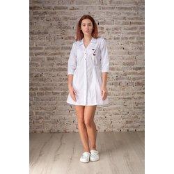 """Медицинский халат """"Olivia"""", белый"""