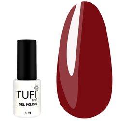 Гель-лак TUFI Profi №179 - насыщенный красный, 8 мл