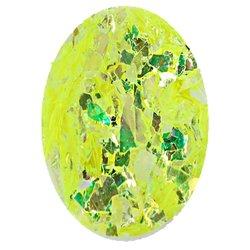 Фольга битое стекло в баночке Starlet - лимонный перламутр